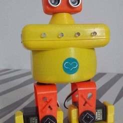 20161204_100224.jpg Download free STL file Cyno02 Arduino Robot walker • Design to 3D print, brunoschaefer41