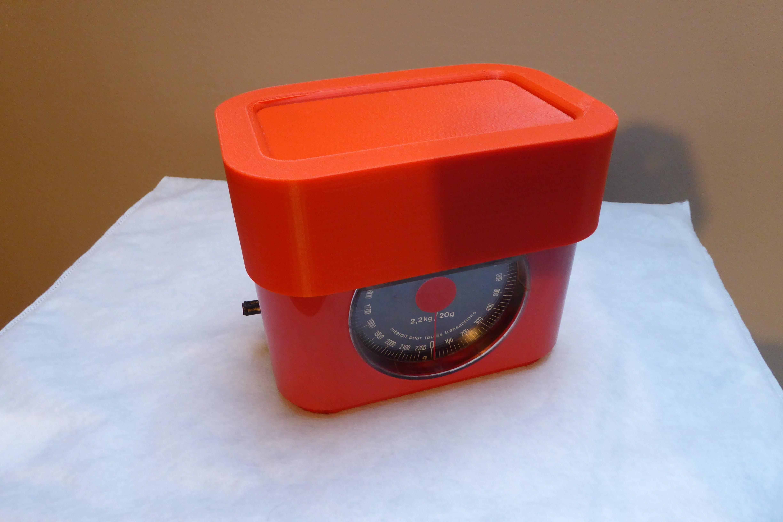 balance-closed.JPG Download free STL file Spare pan for Kitchen Scale Terraillon • 3D printable model, brunoschaefer41