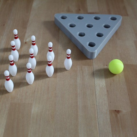 Download free 3D printer templates Table Bowling with 3D models from the game Bowling Online 2, Xenice