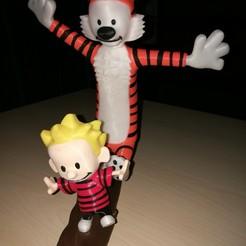 Free Calvin and Hobbes STL file, cacofant