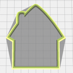 Descargar archivos 3D Little house cookie cutter, torresfederico