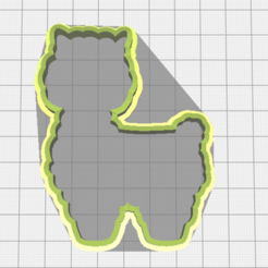 Descargar modelo 3D Llama cookie cutter, torresfederico