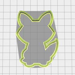 Imprimir en 3D Fox cookie cutter, torresfederico