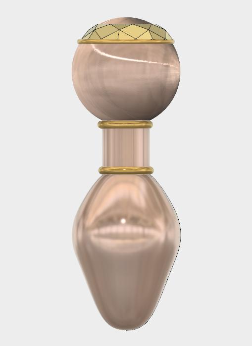 Rosebud XL (2).PNG Download STL file PLUG ANAL XL • Model to 3D print, 3dprintcreation