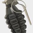 Grenade Frag.PNG Download free STL file GRENADE FRAG • 3D printing model, 3dprintcreation