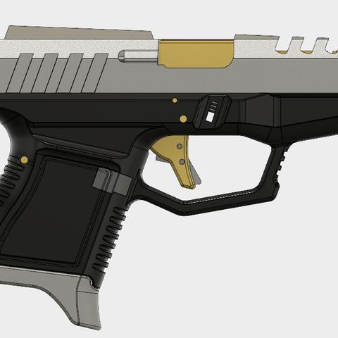 Glock 26 Gen x (2).PNG Download free STL file Glock 26 Gen x • 3D printable object, 3dprintcreation