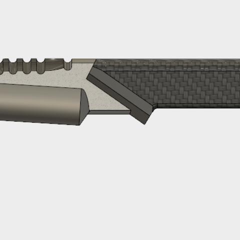 Couteau Custom(1).PNG Download STL file COUTEAU CUSTOM • 3D printer model, 3dprintcreation