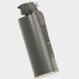 Grenade M18 (5).PNG Download STL file GRENADE M18 SMOKE • 3D printer template, 3dprintcreation