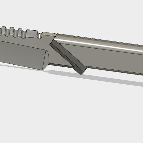 Couteau Custom(3).PNG Download STL file COUTEAU CUSTOM • 3D printer model, 3dprintcreation