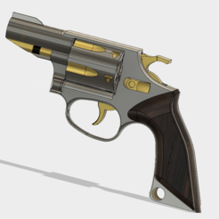 Imprimir en 3D Smith & Wesson Modelo 36 Custom, 3dprintcreation