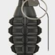 Grenade Frag (1).PNG Download free STL file GRENADE FRAG • 3D printing model, 3dprintcreation