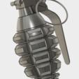 Grenade Frag (5).PNG Download free STL file GRENADE FRAG • 3D printing model, 3dprintcreation