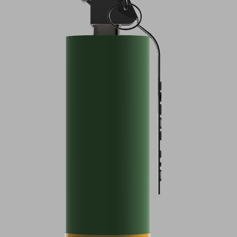 Grenade M18 (1).PNG Download STL file GRENADE M18 SMOKE • 3D printer template, 3dprintcreation