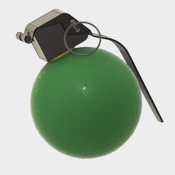 Modèle 3D GRENADE M27, 3dprintcreation