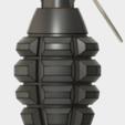 Modelos 3D para imprimir gratis GRENADE FRAG, 3dprintcreation