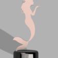 3D printer files STATUE SIRENE, 3dprintcreation