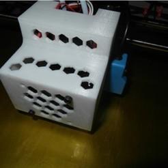 diseños 3d gratis Actualización del cabezal de impresión del cubo Flsun, UniversalMaker