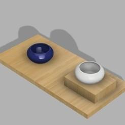 Descargar diseños 3D gratis plantador suculento, UniversalMaker