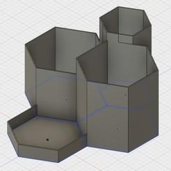 Modelos 3D para imprimir gratis Módulo de almacenamiento, UniversalMaker