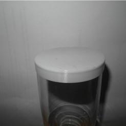 Free stl drinkglass cover, UniversalMaker
