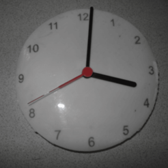 modelos 3d gratis Reloj (disponible en dos colores), UniversalMaker