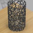 3D print files Voronoi Vase Container, UniversalMaker