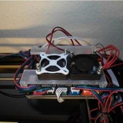 modelo stl gratis Actualización de la cubierta del ventilador de la impresora V2.0, UniversalMaker