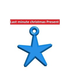 Download free 3D printer model Customizable christmas star, UniversalMaker