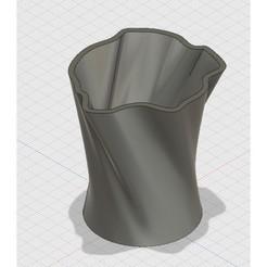 Imprimir en 3D gratis Maceta Orgánica, UniversalMaker