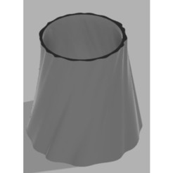 Free STL files Lamp shade (organic), UniversalMaker