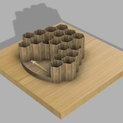 Descargar Modelos 3D para imprimir gratis Porta lápices, UniversalMaker