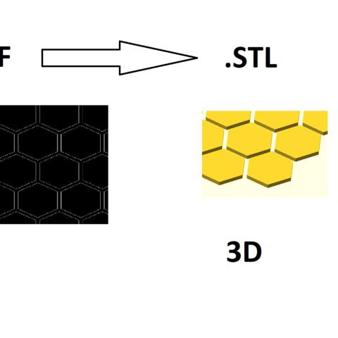 Free 3D model 2D to 3D Converter ・ La Poste