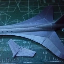 3D printer models thunderbird plane RTL2, platt980