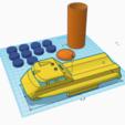scarlet tanker.PNG Download STL file captain scarlet tanker thunderbirds • 3D printer model, platt980