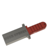 Download free 3D printer files DOOR OPENER - BOTTOM PUSHER WITH HOLDER AND BELT CLIP, Ivankahl3D