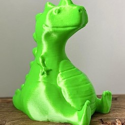 7C9890F9-69B2-48EC-8A72-75E57BB0826B.jpeg Download OBJ file CHUBBY REX DINOSAUR • 3D printer model, Ivankahl3D