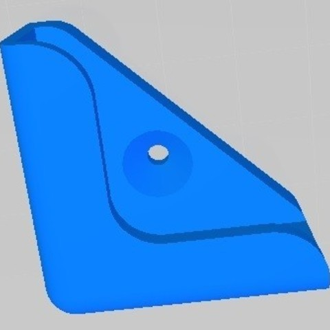 support.jpg Download free STL file WALL SHELF SUPPORT • 3D printer template, seven7260