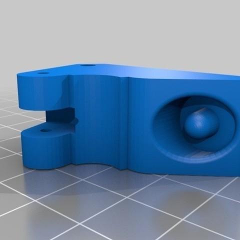 0ae8a7f7ad2b83ac0913c0ff32c75fe3_preview_featured.jpg Download free STL file Discoeasy dagoma extruder arm for flexible filament • 3D printing model, seven7260