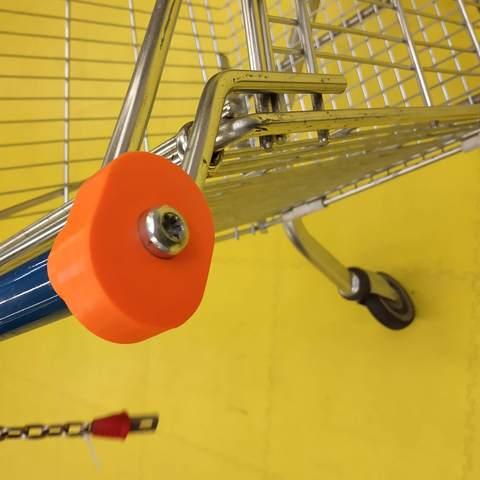 Télécharger plan imprimante 3D gatuit Réparation barre/poignée caddie-caddy repair, seven7260