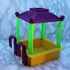 IMG_0419.JPG Télécharger fichier STL Mangeoire oiseaux • Design pour imprimante 3D, leodomi