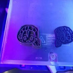 Download 3D printer files Cookies Cutter - Yuri!! on ICE Victor Nikiforov, Dali_Acido