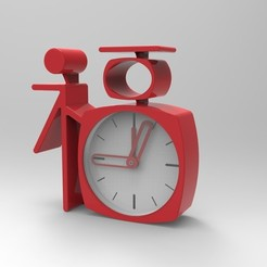 Download 3D printer files Chinese style clock, Jume830