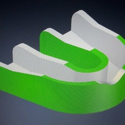 MOUTH GUARD (KICKBOXING - BOXING - MMA) 3D model, lucianojvilla