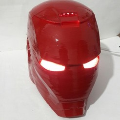 stl files IRONMAN lamp led, lucianojvilla
