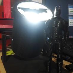 STL BATSIGNAL LED, lucianojvilla