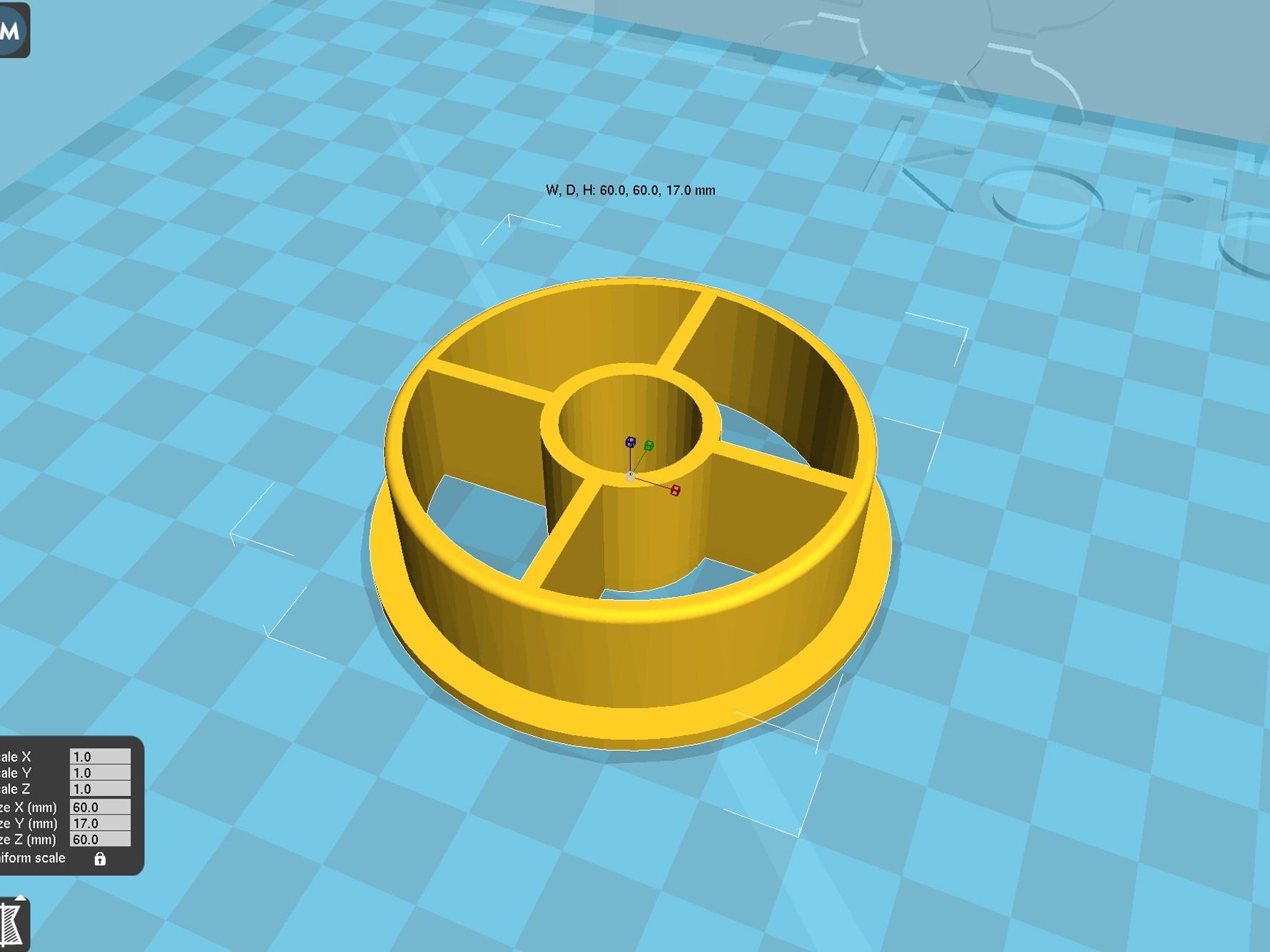 spool_adapter_53_in15.jpg Download free STL file 3d printer filament spool_adapter_53_in15 • 3D printing design, 3D_parts