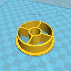Download free STL files 3d printer filament spool_adapter_53_in15, 3D_parts