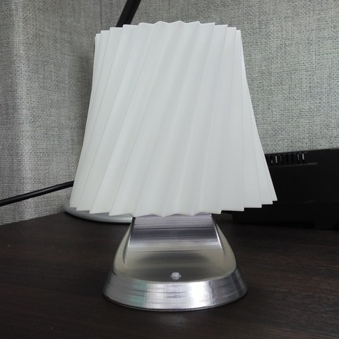 Free 3D file LED lamp DIY, 3D_parts