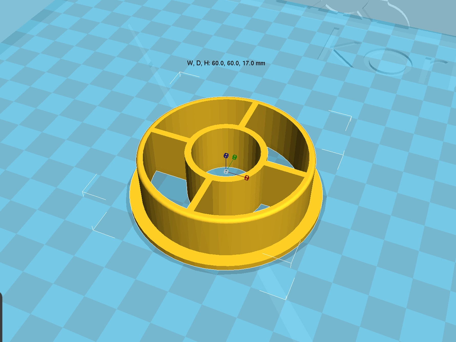 spool_adapter_53_in20.jpg Download free STL file 3d printer filament spool_adapter_53_in20 • 3D printable model, 3D_parts