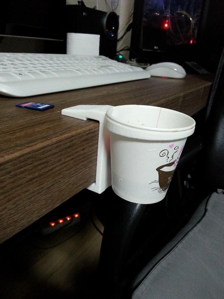 04.jpg Download free STL file cup holder DIY • 3D print model, 3D_parts